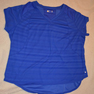 Xersion short Sleeve workout Top 3X
